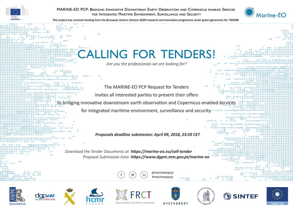 MARINE–EO  is  calling for Tenders.