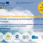 "The Blue Growth Community organises the Summer School ""Blue Growth"