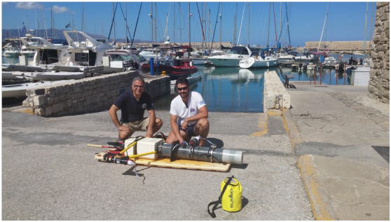 PRESS RELEASE HELLENIC CENTRE FOR MARINE RESEARCH – HELLENIC RESCUE TEAM COMBINED OPERATION