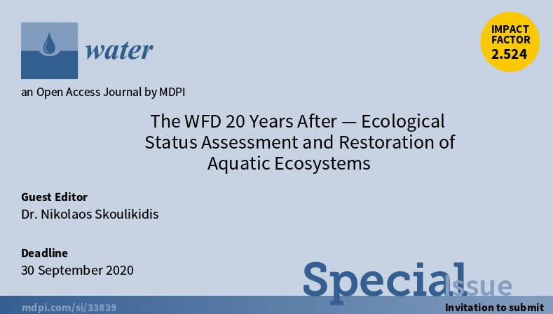 Τhe WFD 20 years after – Ecological status  assessment and restoration of aquatic ecosystems