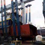 Hull welding of the R/V PHILIA 21.12.2020